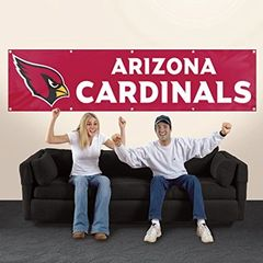 Arizona Cardinals 2' x 8' Wall Banner Flag NFL Licensed