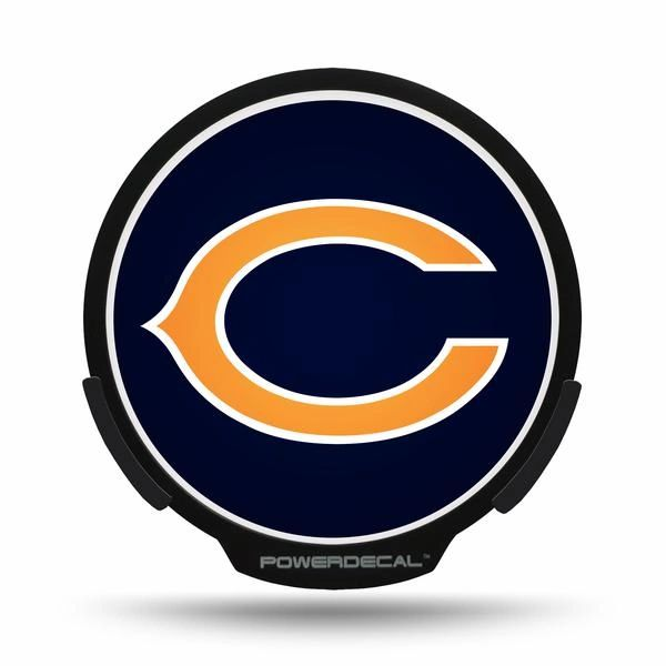 Chicago Bears LED Window Decal Light Up Logo Powerdecal NFL