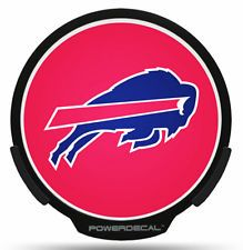 Buffalo Bills LED Window Decal Light Up Logo Powerdecal NFL