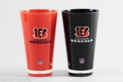"Cincinnati Bengals Insulated Tumbler Cup 2 Pack 20oz. ""On Field Colors"" NFL Licensed"