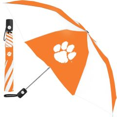 "Clemson Tigers Automatic Push Button Umbrella 42"" NCAA"
