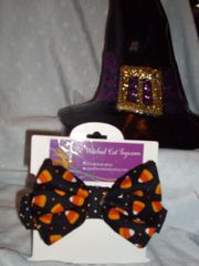 Fall Bowties with Attached Collars