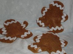 Christmas Organic Catnip Gingerbread Man