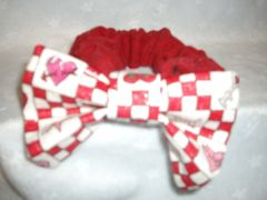 Cat Bowties with Attached Collars - Valentine Designs
