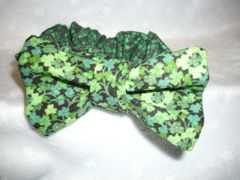 Cat Bowties with Attached Collars, St Patricks Day Designs