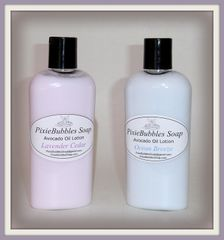 Handmade 4 oz. Avocado Oil Body Lotion with Sweet Almond Oil & Shea Butter