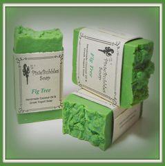 """Fig Tree"" Coconut Oil Greek Yogurt Handmade Shea Butter Soap Bar"