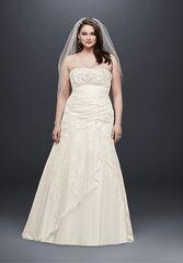 David's Bridal Wedding Dress 9YP3344