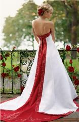 David's Bridal Wedding Dress 7H9274