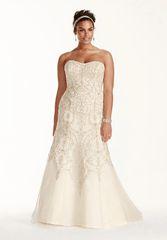 Oleg Cassini Wedding Dress 8CWG706