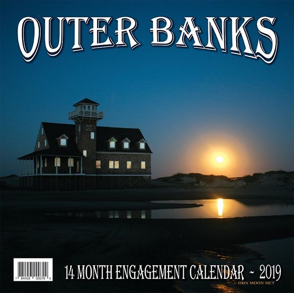 "OBX 2019 12"" x 12"" Engagement Calendar (Back cover)"