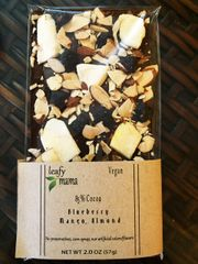 Roasted Almonds, Mango, Blueberry and organic 85% cacao. Three boxes per order.