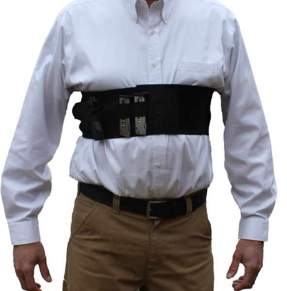 Chest Band Gun Holster With Removable Suspender