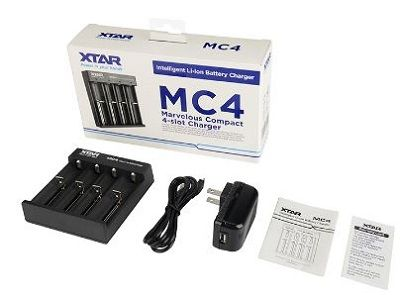 XTAR MC4 Li-ion Intelligent Charger