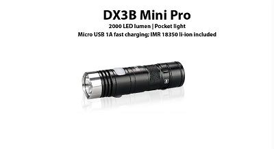 EagTac DX3B MINI Pro (RECHARGEABLE)