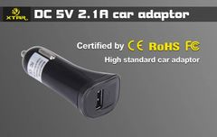 XTAR USB Car Adapter - 2.1amp Output