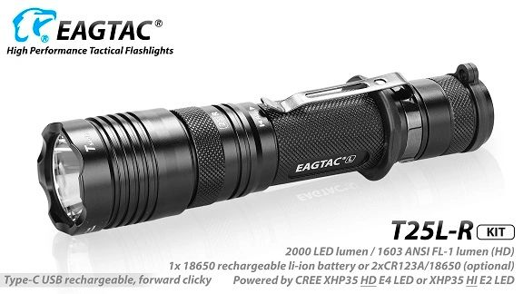 EagTac T25L-R (RECHARGEABLE) {Discontinued}