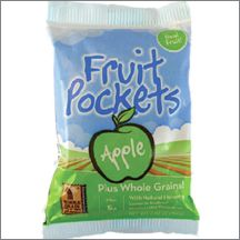 Apple Fruit Pocket, 3.95 oz, Glazed