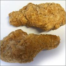 FC Unbreaded Breaded Drumstick