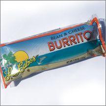 Los Cabos Bean & Cheddar Cheese Burrito