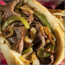 RTC Beef Philly Sandwich Steaks, 4 oz.