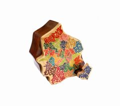 London Neighborhood Map Puzzle Box