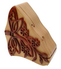 Red Dragonfly Tribal Art Puzzle Box