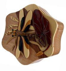 Dragonfly Handmade Puzzle Box