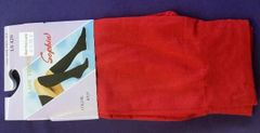 Trouser Socks in Red Nylon