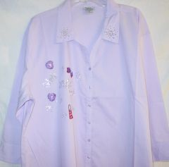 Lavender Shirt - Girls Night Out