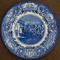 Georgia Historical Plate - Nancy Hart Capturing the Tories