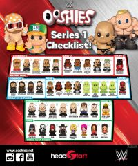 WWE Series 1 Ooshies