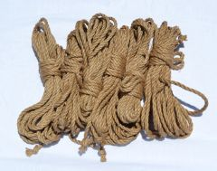 Jute - moderately tight lay