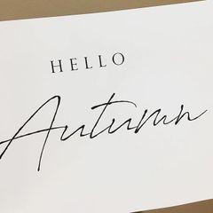 'Hello Autumn' Print