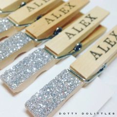 Glitter Pegs