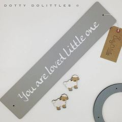 'You Are Loved' Wooden Sign
