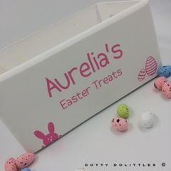 Easter Treats Wooden Box