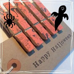 Halloween Magnetic Pegs - Ready to Post