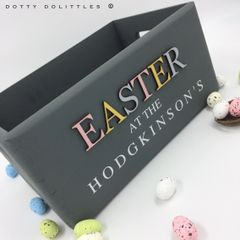 Easter at the ... Wooden Box
