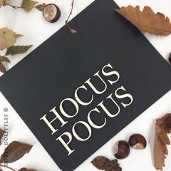 'Hocus Pocus' Wooden Sign