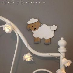 Baby Lamb Wall Art - Ready to Post