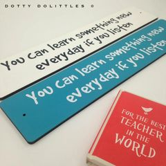 Classroom Wooden Signs