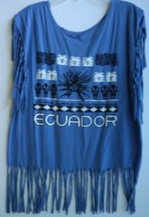 H2BN Ancient Ones ECUADOR Fringe T-Shirt