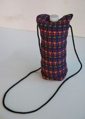 H2BN Ancient Ones Water Bottle Carrier Purple Multicolor Bag