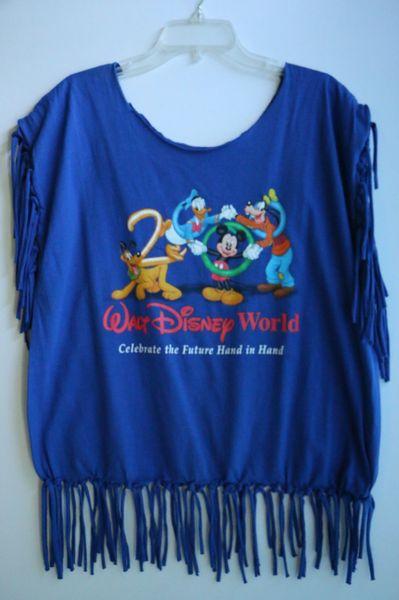 H2bn Yamassee Fringe Walt Disney World T Shirt Happy 2be