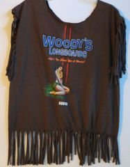 H2BN Ancient Ones Woody's LONGBOARDS Hawaii T-Shirt