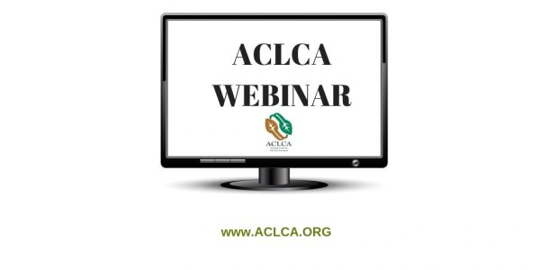 ACLCA Webinar: Introduction to LCA in the Federal Government