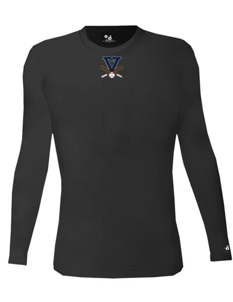 4704 -MV Badger Cold Gear Compression L/S Crew