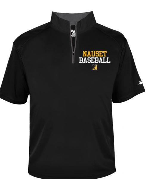Nauset Baseball Bcore light weight 1/4 zip