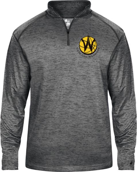 CAPE COD WARRIORS 1/4 ZIP TONAL BLEND